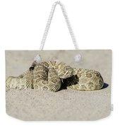 Prairie Rattlesnake  Weekender Tote Bag