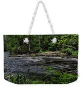 Prairie River Log Jam Weekender Tote Bag