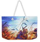 Prairie Sky Weekender Tote Bag by Hanne Lore Koehler