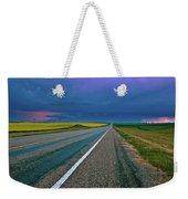Prairie Storm Saskatchewan Weekender Tote Bag