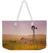 Prairie Windmill Weekender Tote Bag