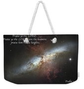 Praise Him From The Heavens Weekender Tote Bag