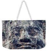 Prasat Bayon Stone Face  Weekender Tote Bag