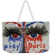Pray For Paris Weekender Tote Bag