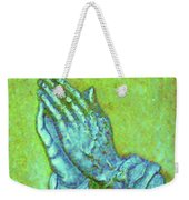 Prayer 3 Weekender Tote Bag