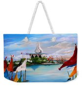 Prayers At Waterloo Weekender Tote Bag