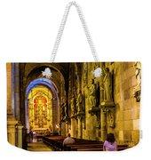 Prayers In The Cathedral Weekender Tote Bag