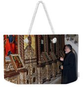 Praying In Jericho Weekender Tote Bag