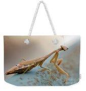 Praying Mantis Close Up Weekender Tote Bag