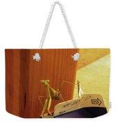 Praying Mantis II Weekender Tote Bag