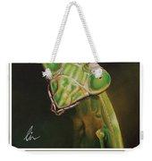 Praying Mantis Poster Weekender Tote Bag