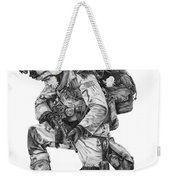 Praying Soldier Weekender Tote Bag