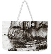 Precarious At Pebble Beach Weekender Tote Bag
