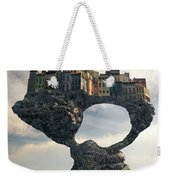 Precarious Weekender Tote Bag by Cynthia Decker