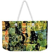Precipitation Of Time Weekender Tote Bag