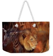 Predator And Prey Weekender Tote Bag