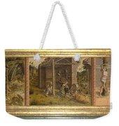 Predella Of La Madonna Della Rondine Weekender Tote Bag