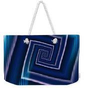 Predominantly Blue Weekender Tote Bag