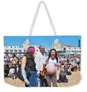 Pregnant Pirate Weekender Tote Bag