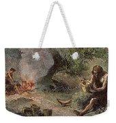 Prehistoric Man: Pottery Weekender Tote Bag