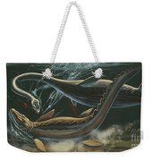 Prehistoric Marine Animals, Underwater View Weekender Tote Bag