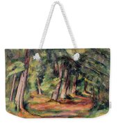 Pres Du Jas De Bouffan Weekender Tote Bag by Paul Cezanne