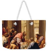 Presentation In The Temple Weekender Tote Bag by Simon Vouet