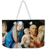 Presentation Of Christ In The Temple Weekender Tote Bag