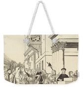 Presentation Of The Virgin In The Temple [center Plate] Weekender Tote Bag