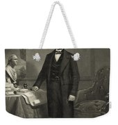 President Abraham Lincoln Weekender Tote Bag