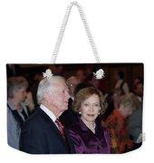 President And Mrs. Jimmy Carter Nobel Celebration Weekender Tote Bag