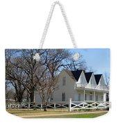 President Dewight Eisenhower Birthplace Weekender Tote Bag