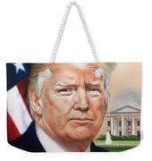 President Donald Trump Art Weekender Tote Bag
