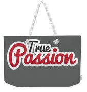 True Passion Weekender Tote Bag