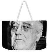 President Franklin Delano Roosevelt Weekender Tote Bag by War Is Hell Store