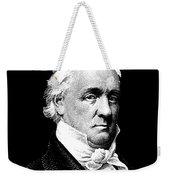 President James Buchanan Graphic Weekender Tote Bag