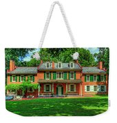 President James Buchanan's Wheatland Weekender Tote Bag