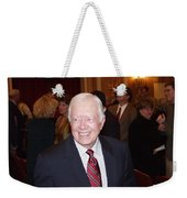 President Jimmy Carter - Nobel Peace Prize Celebration Weekender Tote Bag