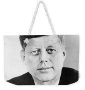 President John F. Kennedy Weekender Tote Bag by War Is Hell Store