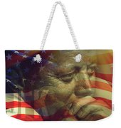 President Kennedy - Digital Art Weekender Tote Bag