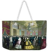 President Lincoln's Last Reception Weekender Tote Bag