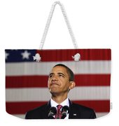 President Obama Weekender Tote Bag by War Is Hell Store