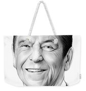 President Ronald Reagan Weekender Tote Bag