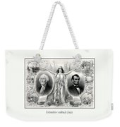 Presidents Washington And Lincoln Weekender Tote Bag