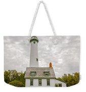Presque Isle Lighthouse  - Lake Huron, Lower Peninsula, Mi Weekender Tote Bag