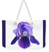 Prettiest Purple Iris Weekender Tote Bag