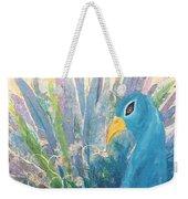 Pretty As A Peacock Weekender Tote Bag