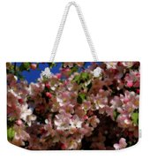 Pretty Blossoms Weekender Tote Bag