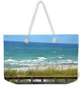 Pretty Blue Gulf Weekender Tote Bag