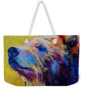 Pretty Boy - Grizzly Bear Weekender Tote Bag